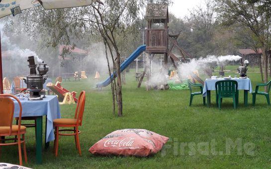 Cumhuriyetköy Bozhane Green Park'ta Doğa ile İç İçe Yöresel Köy Kahvaltısı Keyfi