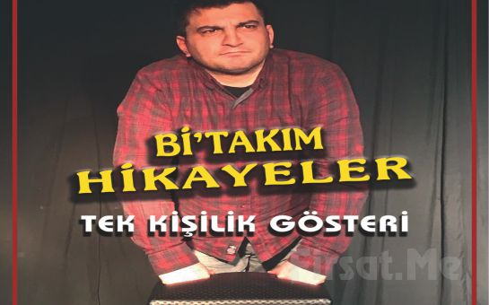 Bi'mekan Sahne'de Yusuf Sarıkaya'dan Tek Kişilik 'Bi'Takım Hikayeler' Stand-up Gösteri Bileti