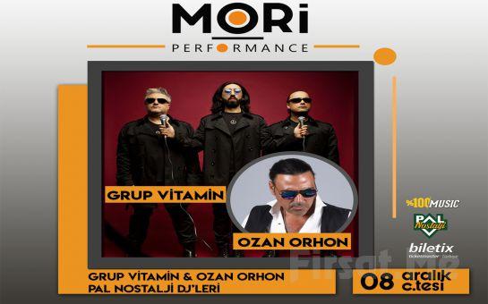 Mori Performance'ta 8 Aralık'ta Ozan Orhon & Grup Vitamin 90'lar Festivali Bileti