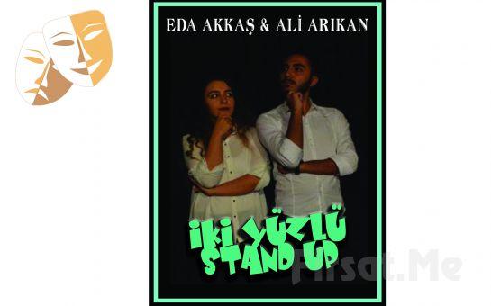 Bi'mekan Sahne'de Eda Akkaş ve Ali Arıkan'dan 'İki Yüzlü Stand Up' Gösterisi Bileti