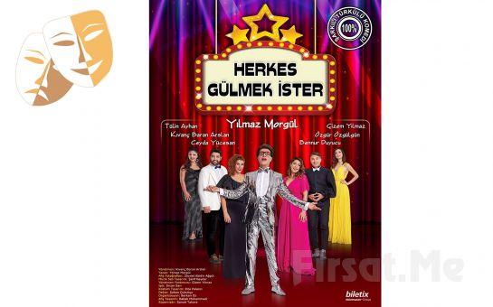 Müzik Şöleni ve Tiyatro'nun Bir arada Olduğu' Herkes Gülmek İster' Tiyatral Show Bileti