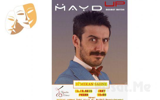 Bi'mekan Sahne'de Mehmet Mayda'dan 'Mayd Up' Stand Up Gösteri Bileti