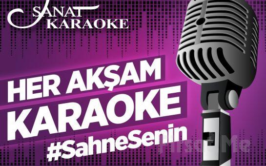 Sanat Cafe & Bar'da Her Akşam Gerçekleşecek 'Karaoke Gecesi' Girişi