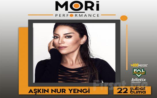 Mori Performance'ta 22 Şubat'ta Aşkın Nur Yengi Konser Bileti