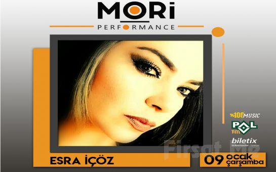 Mori Performance'ta 9 Ocak'ta 'Esra İçöz' Konser Bileti