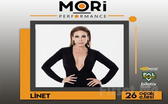Mori Performance'ta 26 Ocak'ta 'Linet' Konser Bileti