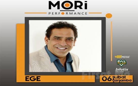 Mori Performance'ta 6 Şubat'ta 'Ege' Konser Bileti