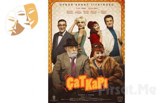 Komedi ve Kaos Dolu 'Çat Kapı' Tiyatro Oyun Bileti