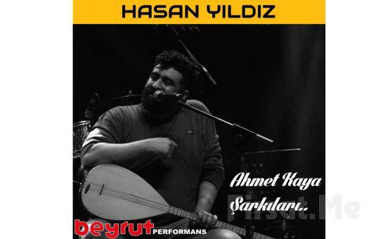 Beyrut Performance Kartal Sahne'de Her Pazar 'Hasan Yıldız - Ahmet Kaya Şarkıları' Konseri