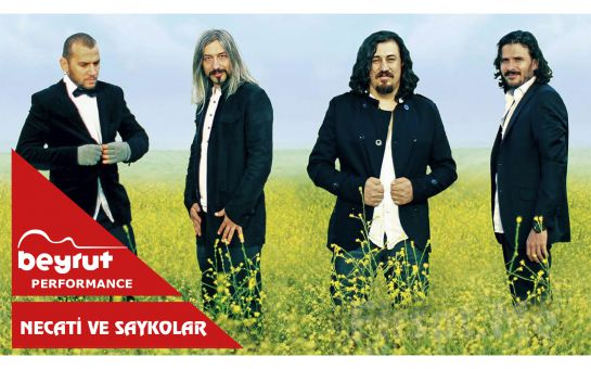 Beyrut Performance Kartal Sahne'de 30 Mart'ta Necati ve Saykolar Konser Giriş Bileti