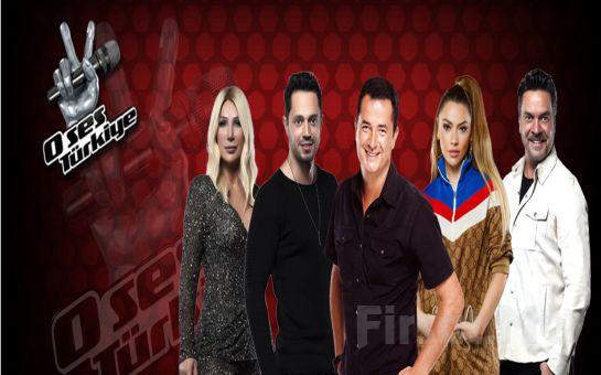 En Sevilen Yarışma 'O Ses Türkiye' Yarı Final ve Canlı Sezon Finali Programına Giriş Bileti