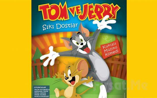 Çocuklarınızın Eğlenerek İzleyeceği 'Tom ve Jerry' Tiyatro Oyunu Bileti