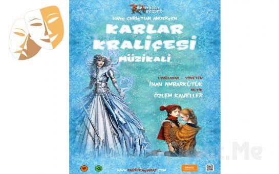 İki Arkadaşın Zamana Meydan Okuyan Sevgi Masalının Anlatıldığı 'Karlar Kraliçesi Müzikali' Biletleri