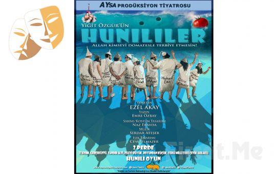 Sıra Dışı Bir Deneysel Oyunculuk Eseri 'Hunililer' Tiyatro Oyunu Bileti