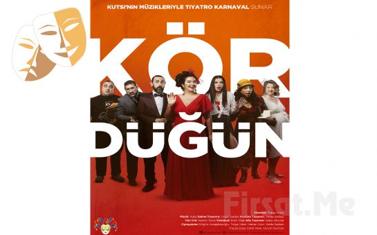 Harika Komedi 'Kör Düğün' Tiyatro Oyun Bileti