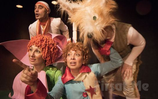 Ünlü Çocuk Klasiği 'Küçük Prens ve Çiçek' Tiyatro Bileti