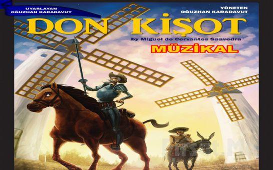 Çocuklarınız İçin Dünya Klasikleri Arasında Yer Alan Hikayesiyle 'Don Kişot Müzikali' Tiyatro Bileti