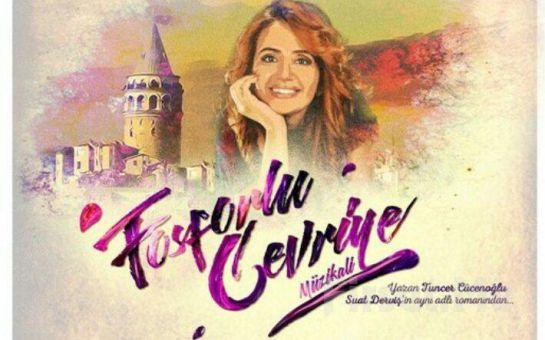 Tuncer Cücenoğlu 'nun Yazdığı Ünlü 'Fosforlu Cevriye Müzikali' Tiyatro Bileti