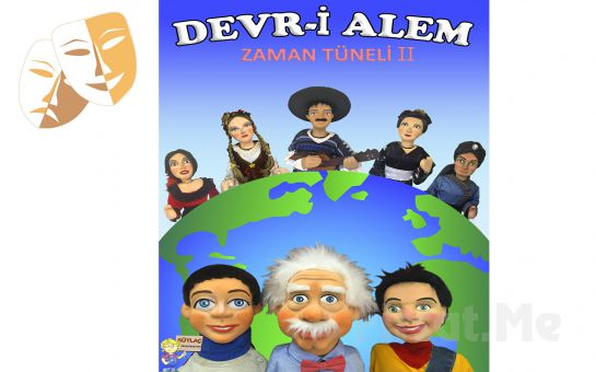 Çeşitli Ülkeler Hakkında Bilgi İçeren 'Devr-i Alem' Kukla Gösterisi