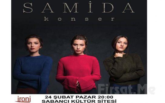 İzmit Sabancı Kültür Sitesi'nde 24 Şubat'ta 'Samida' Konser Bileti