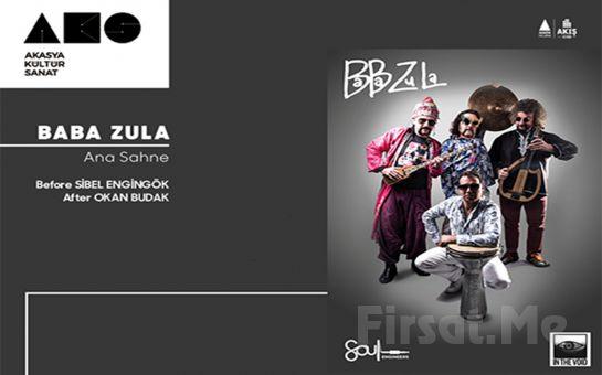 Akasya Kütür Sanat'ta 12 Nisan'da 'Baba Zula' Konser Bileti