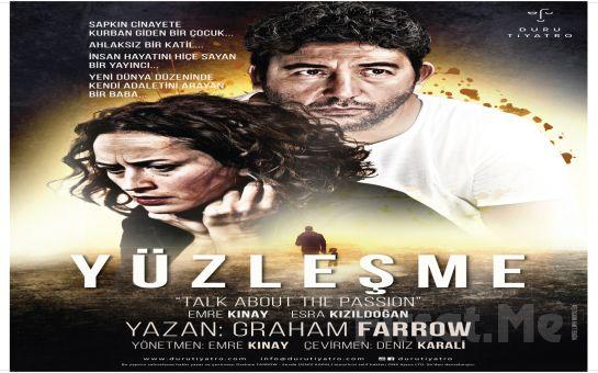 Emre Kınay ve Esra Kızıldoğan'ın Performanslarıyla 'Yüzleşme' Tiyatro Oyunu Bileti