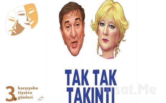 Ali Poyrazoğlu'nun Muhteşem Oyunculuğuyla 'Tak Tak Takıntı' Tiyatro Oyunu Bileti