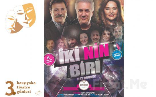 Tamer Karadağlı, Zeyno Günenç ve Başarılı Sanatçıların Sergilediği 'İkinin Biri' Tiyatro Oyunu Bileti