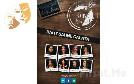 Türkiye'nin İlk Doğaçlama Topluluğundan 'Sahne Kadının' Doğaçlama Tiyatrosu Bileti
