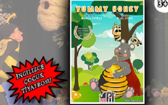 Ödüllü 'Yummy Honey' İngilizce interaktif Çocuk Tiyatosu Bileti