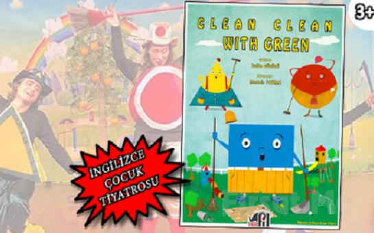 Dostluğun Önemine Dair 'Clean Clean With Green' İngilizce Çocuk Tiyatro Bileti