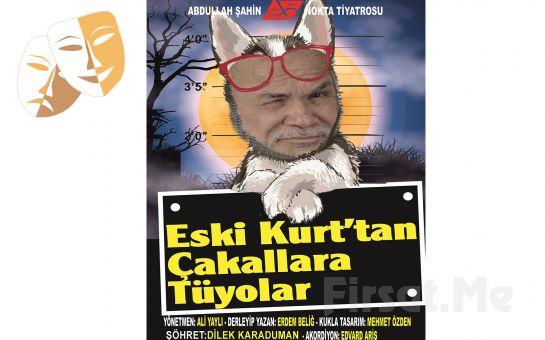 Şöhretin Uzun ve Zor Basamaklarının Komedisi 'Eski Kurttan Çakallara Tüyolar' Tiyatro Bileti