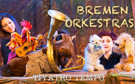 Dört Kafadar Arkadaşın Hikayesi 'Bremen Orkestrası' Tiyatro Bileti