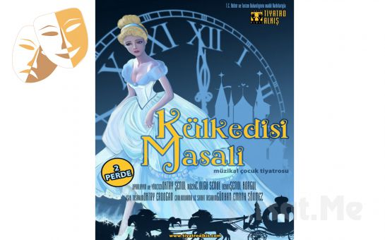 Klasik Masal Kahramanı 'Kül Kedisi Masalı' Çocuk Tiyatro Oyun Bileti
