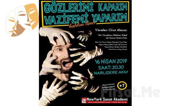 Haldun Taner'in Kaleminden Trajikomik Bir Hikaye 'Gözlerimi Kaparım Vazifemi Yaparım' Tiyatro Oyunu bileti