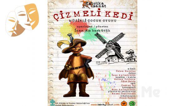 Klasik Masal Kahramanı 'Çizmeli Kedi' Tiyatro Oyunu Bileti