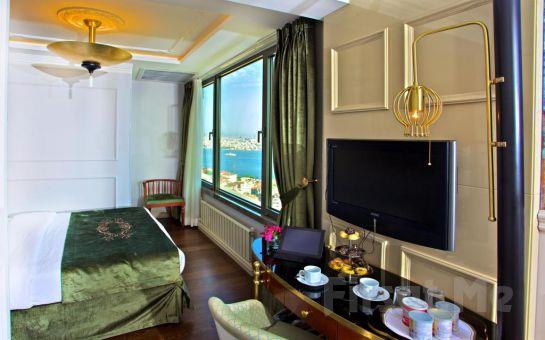 Taksim Star Hotel'de Şehir veya Deniz Manzaralı Odalarda 2 Kişilik Konaklama ve Kahvaltı Seçenekleri