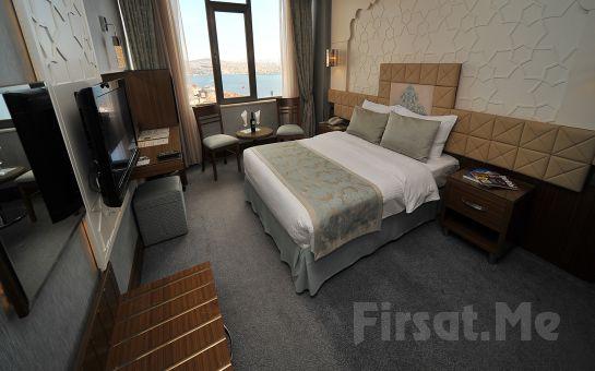 Grand Star Hotel Bosphorus Taksim'de 2 Kişilik Konaklama ve Kahvaltı Seçenekleri