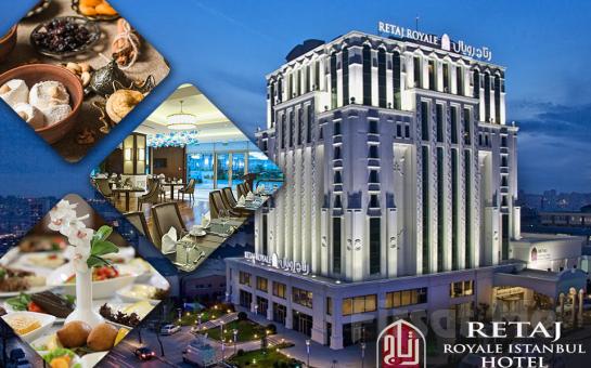 Güneşli Retaj Royale İstanbul Otel'de Semazen Eşliğinde Muhteşem İftar Sofrası