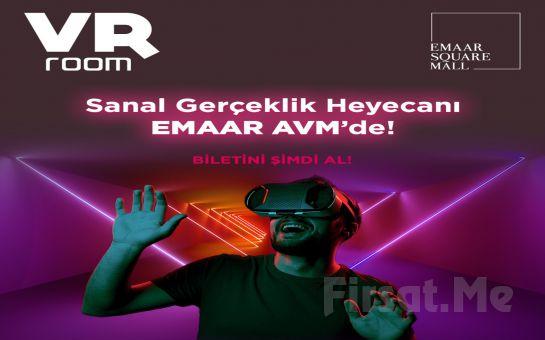 Emaar AVM VR Room'da 30 Dakikalık Sanal Gerçeklik Bileti