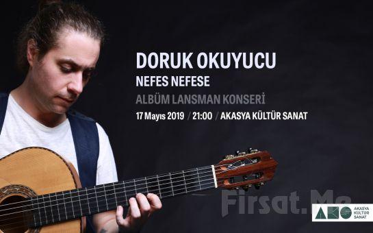 Akasya Kültür Sanat'ta 17 Mayıs'ta Doruk Okuyucu 'Nefes Nefese' Flamenko Albüm Lansmanı Bileti