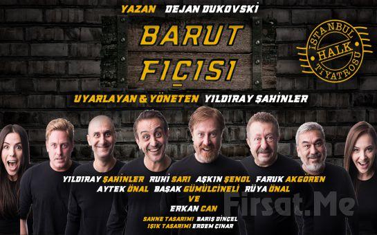 Erkan Can Usta, Yıldıray Şahinler ve Usta Oyuncularından Barut Fıçısı Tiyatro Oyunu Bileti
