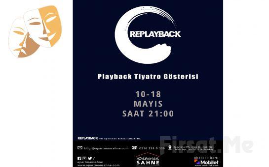 Duyguların Büyülü Bir Atmosfere Dönüştüğü 'Replayback Tiyatro' Gösterisi Bileti