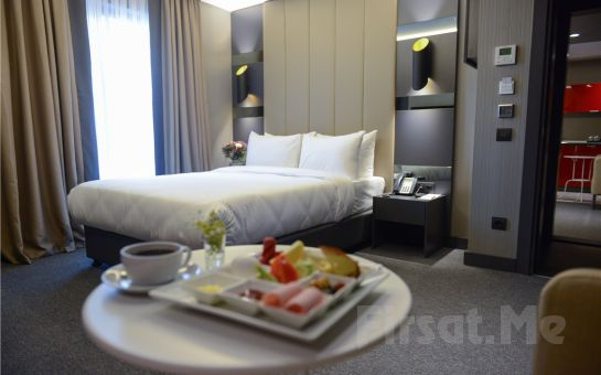 Cityloft 24 Ataşehir'de Konaklama ve Kahvaltı Seçenekleri