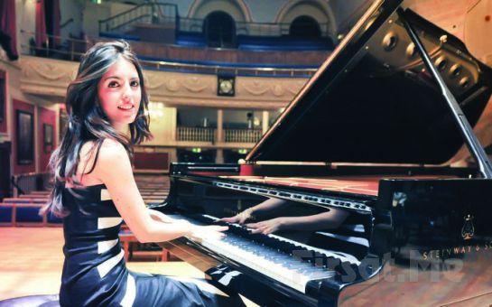 Dünyaca Ünlü Genç Piyanist Ayşedeniz Gökçin 'Beethoven'dan Rock'a Piyano Resitali' Bileti