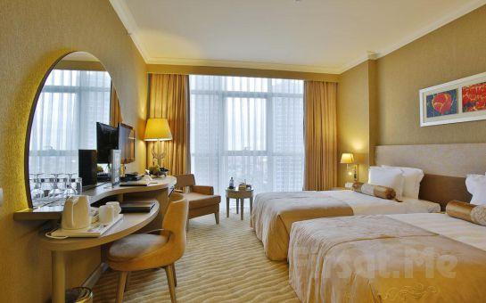 İstanbul Silence Hotel Ataşehir'de Konaklama ve Kahvaltı