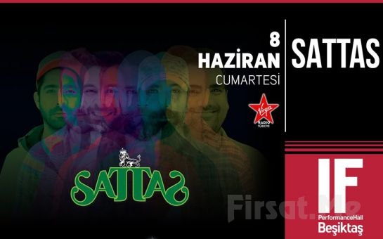IF Performance Hall Beşiktaş'ta 8 Haziran'da Sattas Konser Bileti