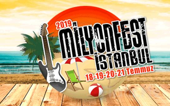 Birbirinden Muhteşem 40 Sanatçı ile MilyonFest İstanbul 2019 Giriş Bileti