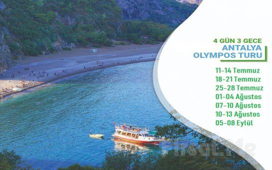 Miki Tur'dan 3 Gece Bungalovlarda Konaklamalı Olympos Turu Ulaşım Seçeneği ile