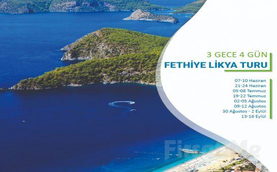 Miki Tur'dan 3 Gece Konaklamalı Fethiye & Likya Turu